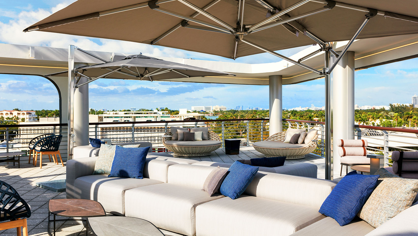 Rooftop Deck overlooking South Beach
