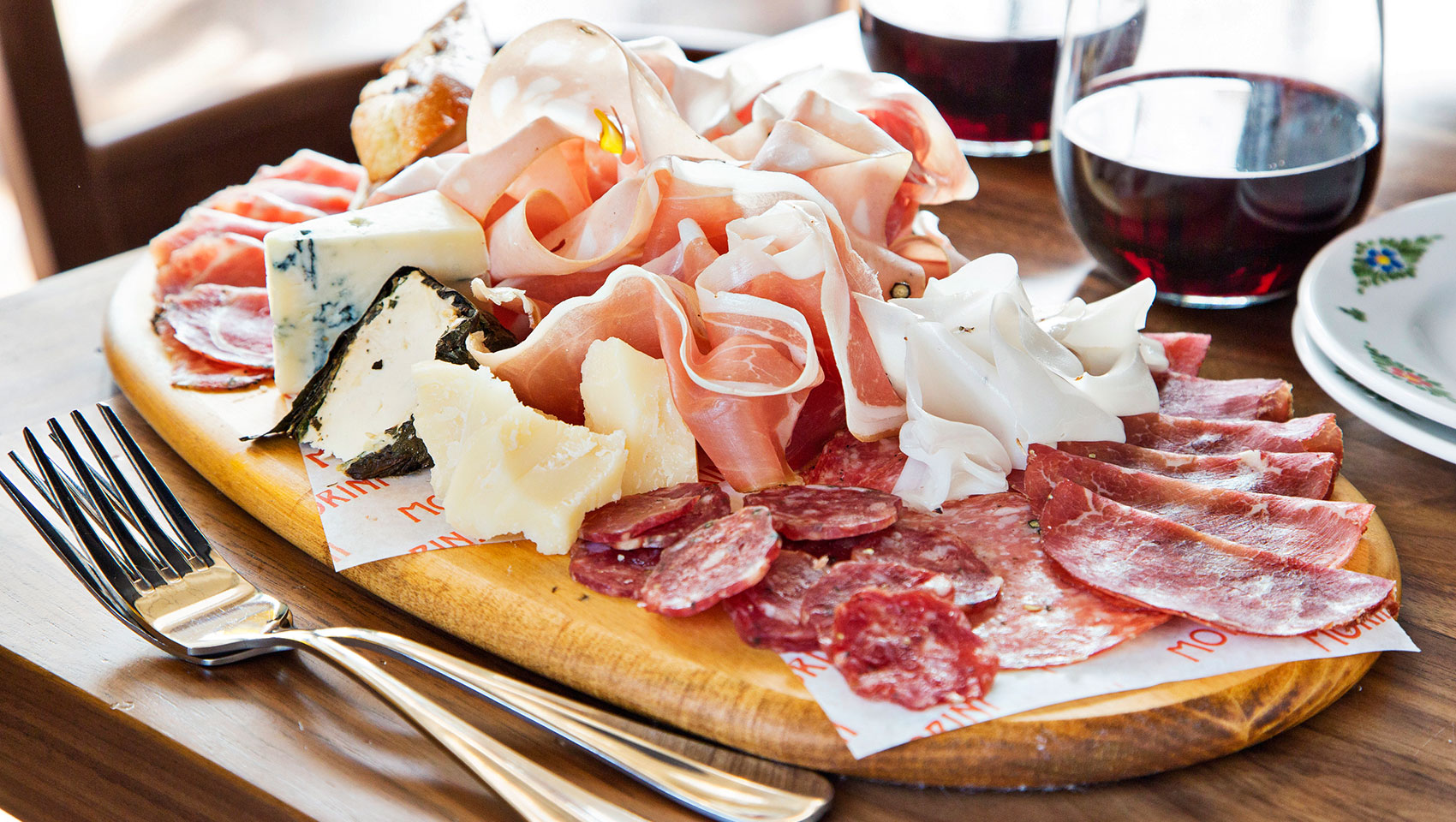 Cured Meat & Cheese Plate